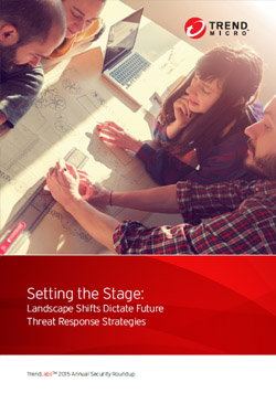 Setting the Stage: Landscape Shifts Dictate Future Threat Response Scenarios