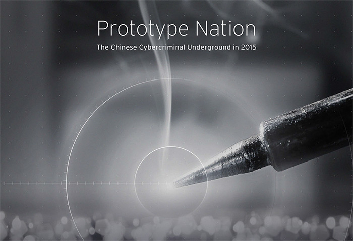 Prototype Nation: The Chinese Cybercriminal Underground in 2015