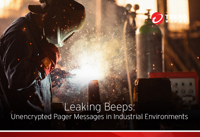 pager messages in industrial environments