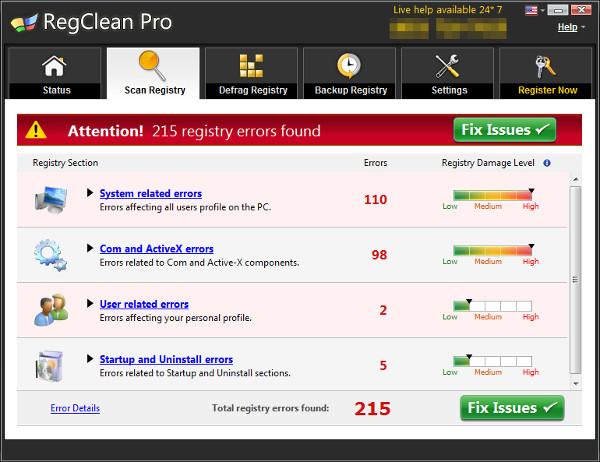 systweak.regclean pro malware