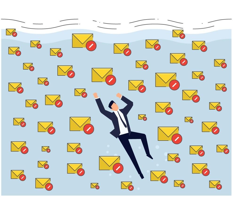 當每天平均都有數十億封垃圾郵件時,光濾掉 50% 的垃圾郵件是沒用的。