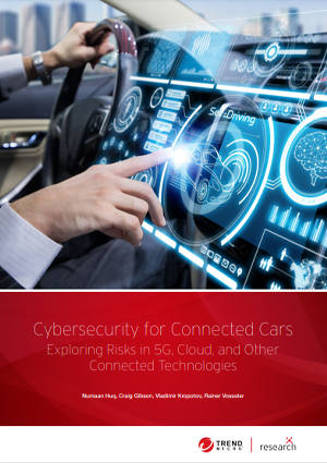 Cybersecurity for Connected Cars: Exploring Risks in 5G, Cloud, and Other Connected Technologies