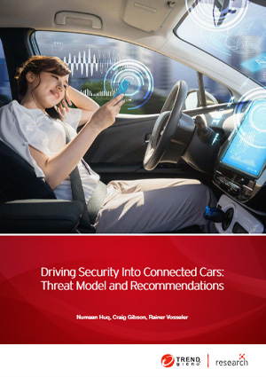 Driving Security Into Connected Cars: Threat Model and Recommendations