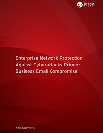 enterprise network protection against BEC