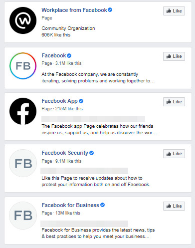 legitimate facebook accounts