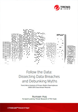 Follow the data: Dissecting Data Breaches and Debunking Myths