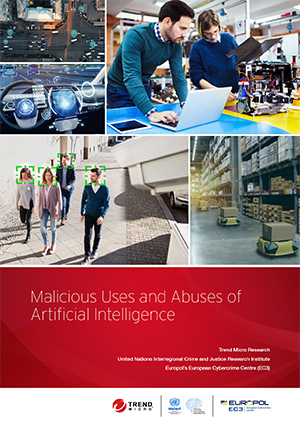 In this paper, researchers from Trend Micro, the United Nations Interregional Crime and Justice Research Institute (UNICRI), and Europol discuss not only the present state of the malicious uses and abuses of AI and ML technologies, but also the plausible future scenarios in which cybercriminals might abuse these technologies for ill gain.
