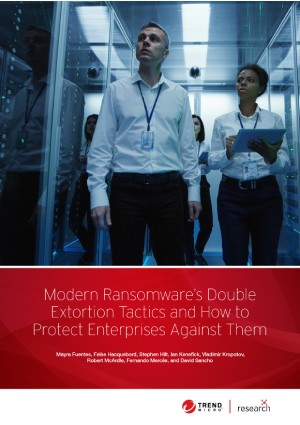 Modern Ransomware's Double Extortion Tactics and How to Protect Enterprises Against Them