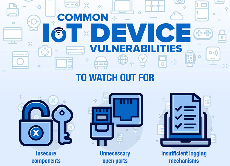 Smart Yet Flawed: IoT Device Vulnerabilities Explained