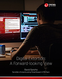 View Digital Extortion: A Forward Looking View