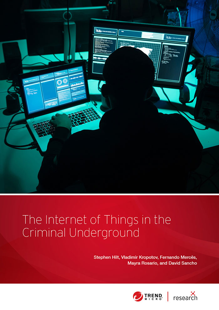 The Internet of Things in the Cybercrime Underground