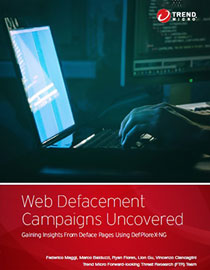 Web Defacement Campaigns Uncovered