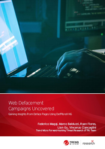 DefPloreX-NG is a tool that can be used by cybersecurity analysts to conduct real-world investigations on past and ongoing web defacement campaigns. Our report details this approach, which includes machine learning methods, as applied to the analysis of 13 million defacement records.