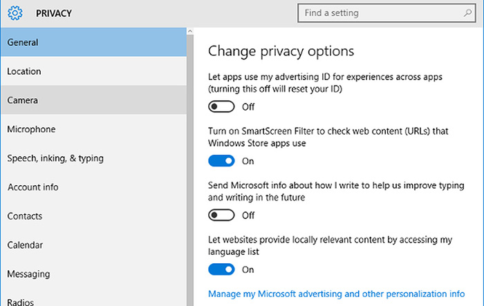Windows 10 Privacy Issues: There's an