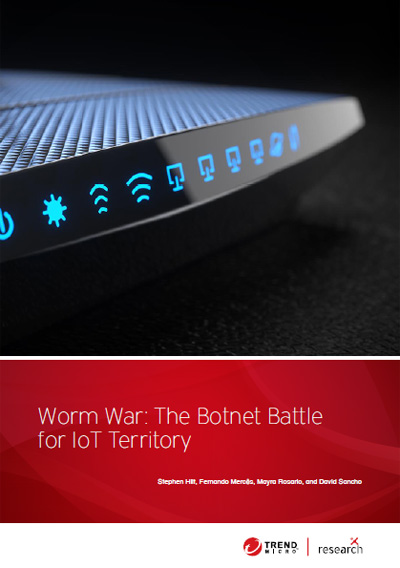 Download Worm War: The Botnet Battle for IoT Territory