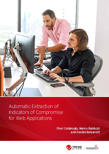 Automatic Extraction of Indicators of Compromise for Web Applications