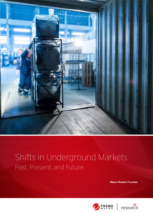 Shifts in Underground Markets