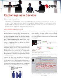 espionage as a service