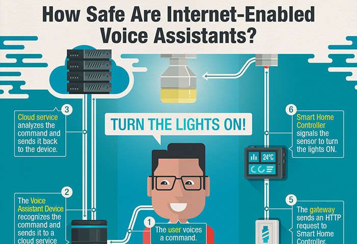 How Secure are your Internet-Enabled Voice Assistants