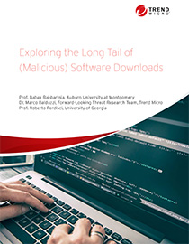 View Exploring the Long Tail of (Malicious) Software Downloads