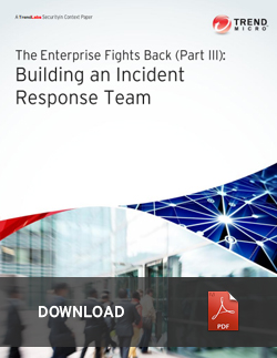 building an incident response team