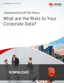 Implementing BYOD Plans: What are the Risks to Your Corporate Data