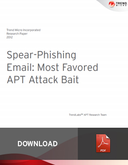 Sphear-Phishing Email: Most Favored APT Attack Bait