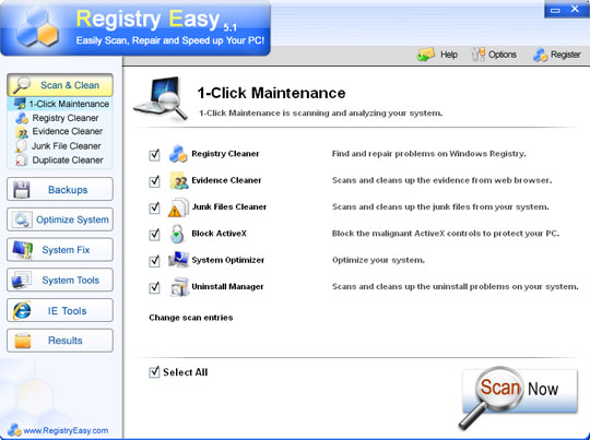 Registry Easy GUI