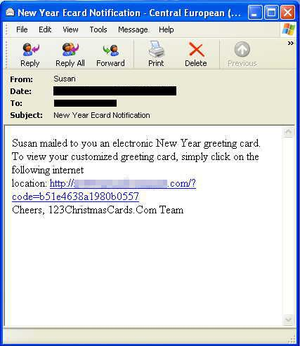 What is Old is New Again: Malicious New Year e-Card Spam - TrendLabs ...