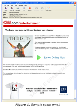 """MJ's """"This Is It"""" Premiere Triggers Spam Attacks - TrendLabs"""