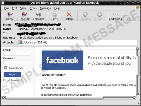 Facebook Mystery Friend? No, Malware  - TrendLabs Security