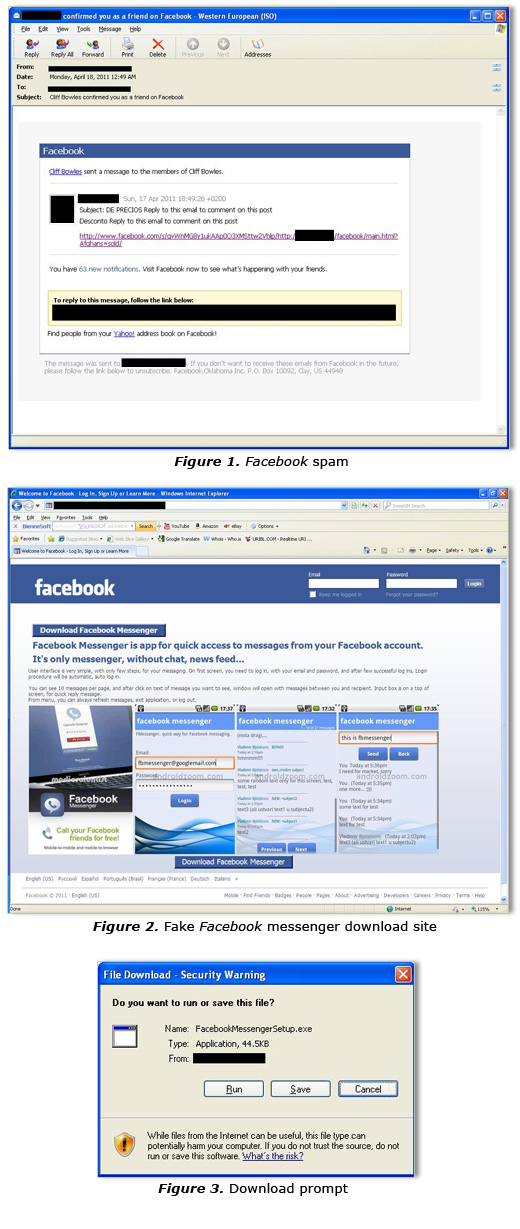 Spam Tricks Users Into Downloading Fake Facebook Messenger