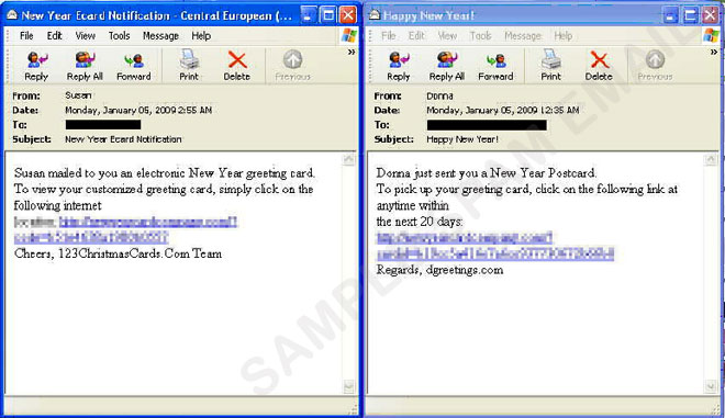 New Year e-Card spam - Threat Encyclopedia - Trend Micro USA
