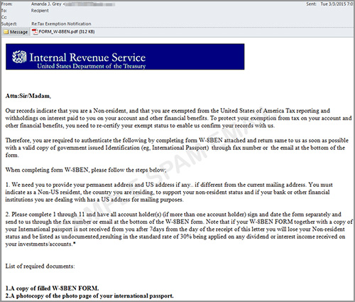 Security Now Be Aware Of These Tax Season Scams  Security News