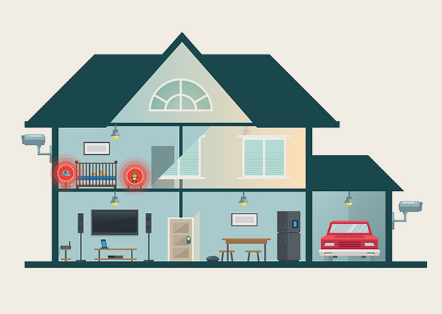 Securing the Smart Home: Tips for Home Users and Manufacturers