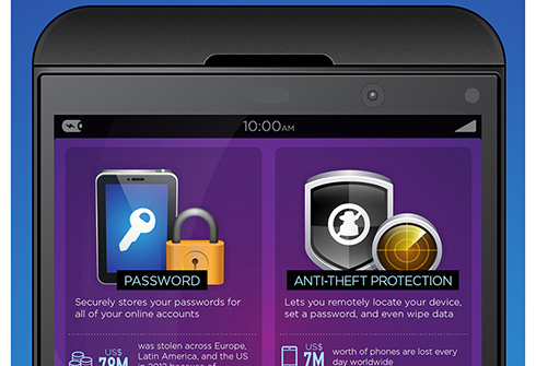 The Security Features of Blackberry 10