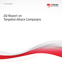 2Q 2013 Report on Targeted Attack Campaigns