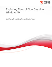 An In-depth Look at Control Flow Guard Technology in Windows 10