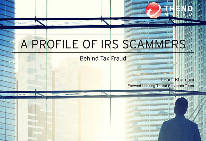 a profile of IRS Scammers