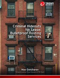 Criminal Hideouts for Lease: Bulletproof Hosting Services