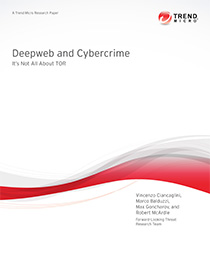 Deep Web and Cybercrime