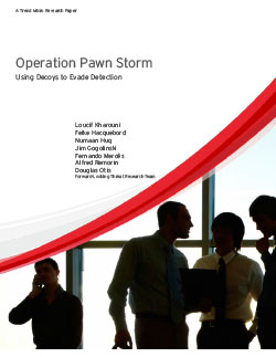 Operation Pawn Storm Using Decoys to Evade Detection