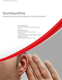 Soundsquatting research
