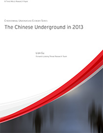 The Chinese Underground in 2013