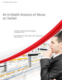 Trend Micro Analysis of Twitter Abuse